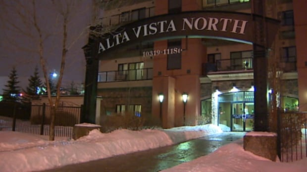 A man who was found badly injured at this Oliver condo on New Year's Day is Edmonton's first homicide of 2014.