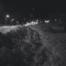 sidewalk snow