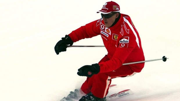 Former F1 driver Michael Schumacher, shown here in 2006, fell while skiing and struck his head on a rock last Sunday.