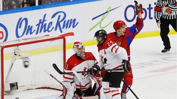 world junior championship hockey canada russia
