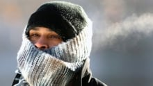 cold snap wind chill winter weather freezing