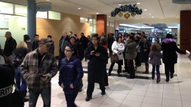 The line to receive a flu shot at the Northgate Health Centre – the only flu clinic open in the city today – was already long by 11 a.m.