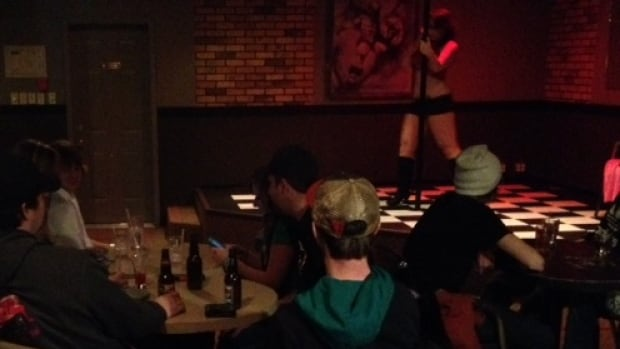 Legal stripping arrived in Saskatchewan bars a year ago. This bar in Codette may have been the first to offer legal strip shows under the new rules.
