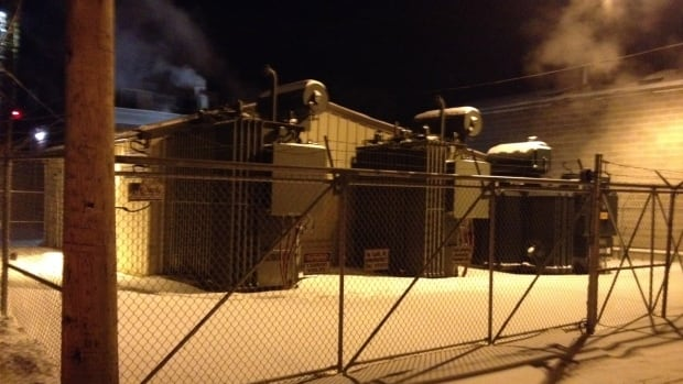 Problems at this Saskatoon Light & Power substation led to rolling blackouts for residents of Nutana, Varsity VIew and Haultain. At the time temperatures with wind chill were closer to -40C.