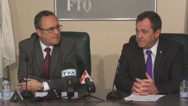 FTQ president Daniel Boyer and secretary general Serge Cadieux told members of the media Sunday that the labour union federation was in the hot seat in late 2013, and that they expect it will continue to be for at least the early part of 2014.