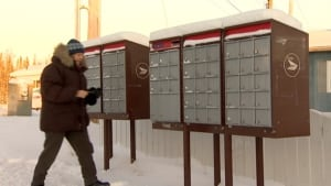 Yellowknife mailboxes