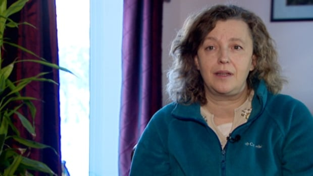Gillian Burles went for three weeks without mail in Yellowknife over the holidays.