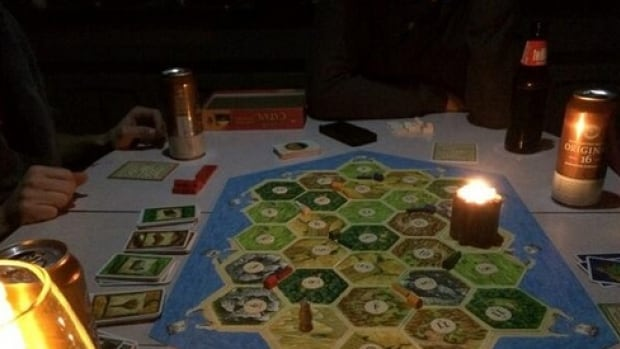 "Desaree Larsen went to a neighbour's home to play The Settlers of Catan board game. She wrote that the only instruction that evening was ""BYOC ... bring your own candle."""