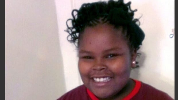 This undated file photo provided by the McMath family and Omari Sealey shows Jahi McMath. The family attorney of the California girl declared brain dead after a tonsillectomy says she has been taken out of Children's Hospital of Oakland.