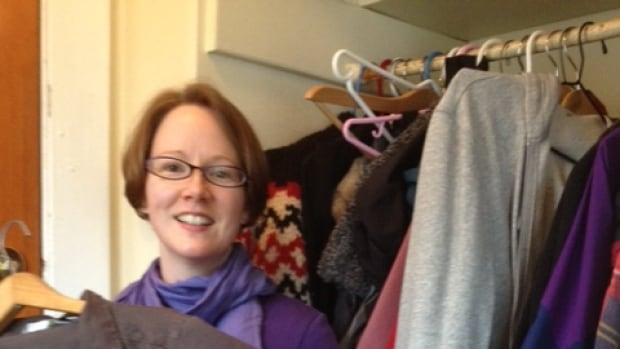 Professional organizer Marnie Kurylo suggests sorting through everything, including the hall closet.