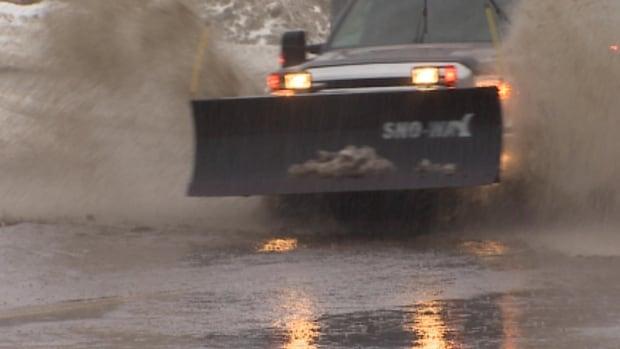 Heavy rain in Newfoundland