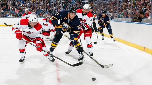 Tuesday night's game between the Carolina Hurricanes and Sabres has been postponed until a later date due to inclement weather in the Buffalo area.