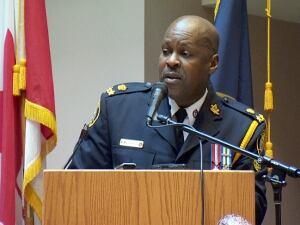 Toronto police Deputy Chief Mark Saunders