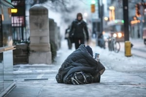 Toronto cold snap homeless