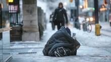 Toronto cold snap homeless
