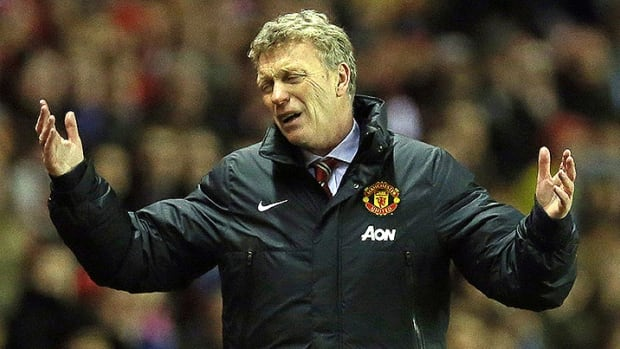 Manchester United manager David Moyes has struggled to fill Alex Ferguson shoes as the Red Devils are 11 points back of EPL leader Arsenal.