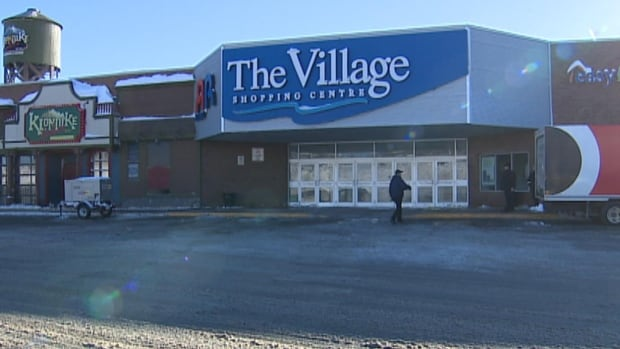 A busted sprinkler and damaged electrical system is keeping the Village Shopping Centre in St. John's closed.