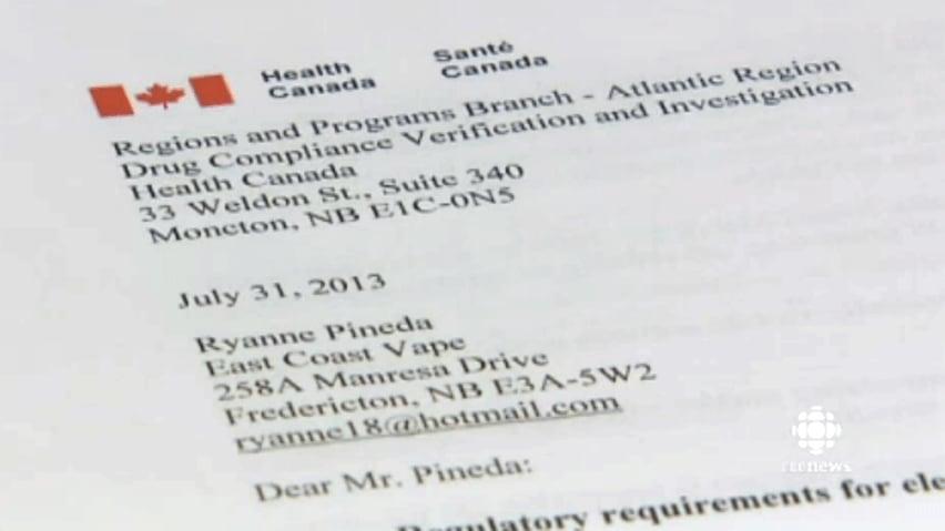 E-cigarette seller fights Health Canada order to stop   CBC News