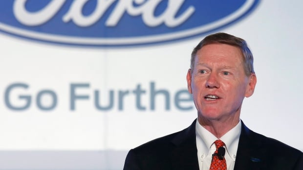 Alan Mulally, president and CEO of Ford Motor Co., has decided to 'go further' with the car company, ending speculation he might take the top job at Microsoft.