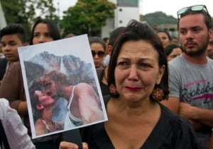 CORRECTION Venezuela Slain Actress