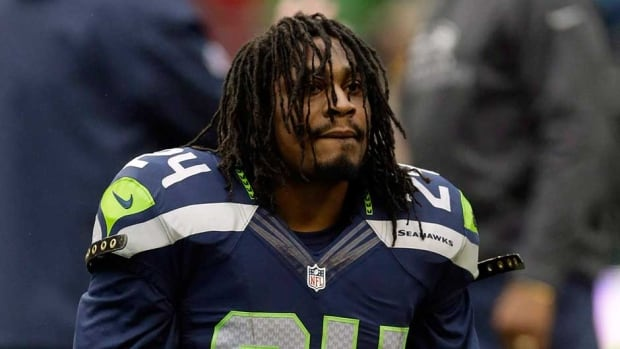 Seattle Seahawks running back Marshawn Lynch had declined all requests for interviews this season and had not spoken to the media until last Friday.