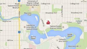 Regina fire map