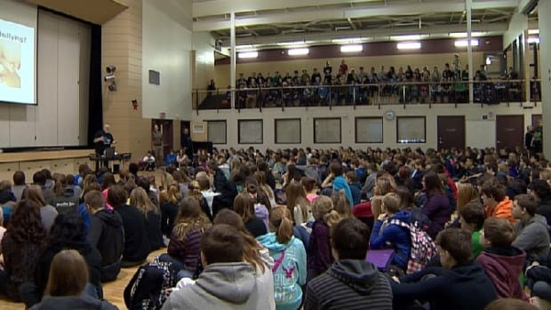A session held at Warman High School aimed to help students and parents understand cyberbullying.
