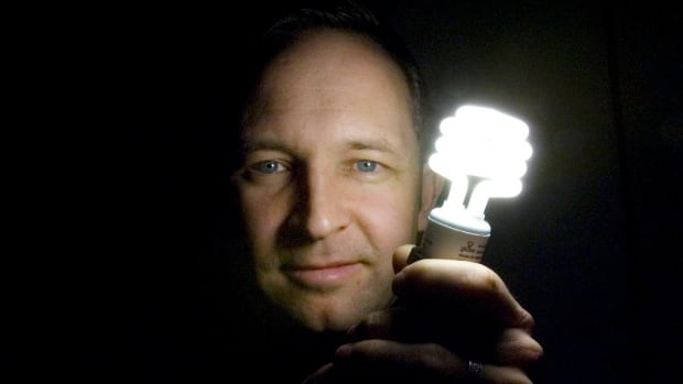 Entrepreneur Stuart Hickox holds a compact fluorescent lightbulb. As much as 16 per cent of Canada's workforce is self-employed, a figure that may move higher.