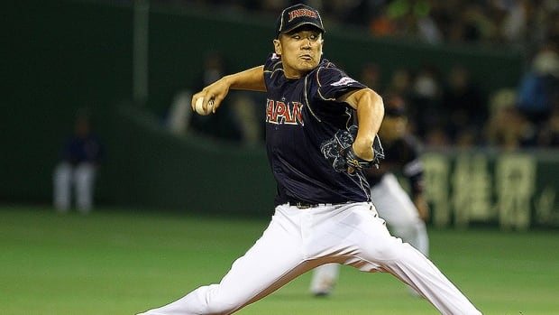Free agent Japanese pitcher Masahiro Tanaka was 24-0 with a 1.27 ERA last year for the Japan Series champion Rakuten Golden Eagles.