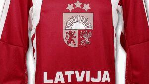 Latvia hockey jersey