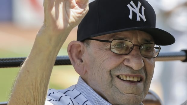 New York Yankees Hall of Famer Yogi Berra is well known for his memorable quotes, including 'I really didn't say everything I said.'