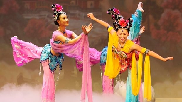 Members of the Shen Yun dance troupe perform at the Radio City Music Hall in New York on Feb. 13, 2010. The company has three shows in Hamilton this weekend.