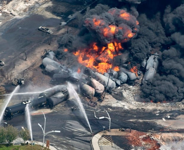 Lac-Megantic train derailment