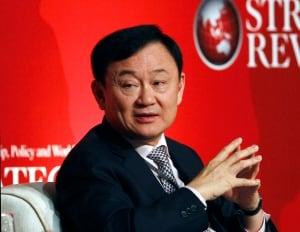 Former Thailand Prime Minister Thaksin Shinawatra