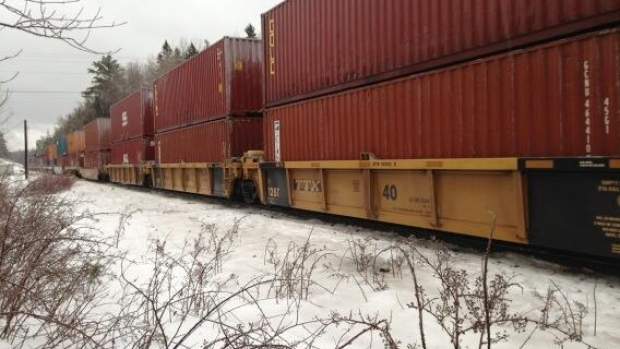 Trains are rolling again through the section that had been closed due to the derailment.