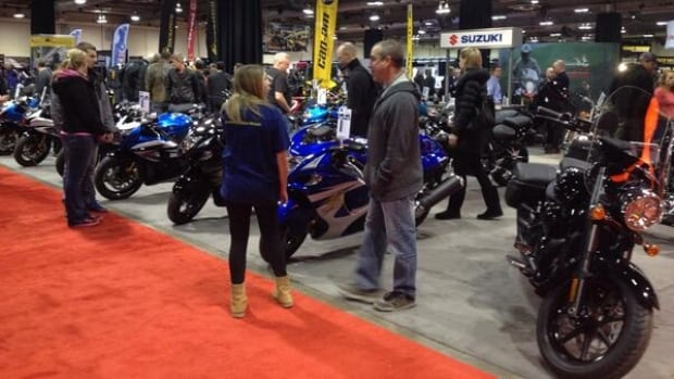 Thousands are expected to flock to the Calgary Motorcycle Show this weekend.
