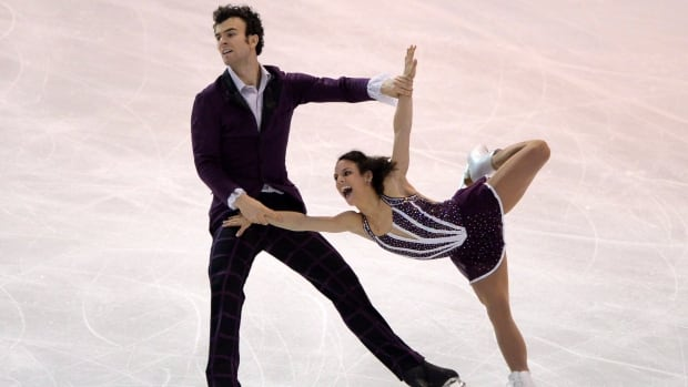 Eric Radford and Meagan Duhamel perform at the Canadian Skating Championships in Ottawa on Saturday. The pair won their third straight national title and were named to Canada's Olympic team for Sochi 2014.