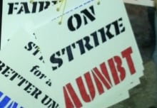 UNB strike