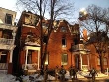 Gilmour Street Fire Ottawa Day
