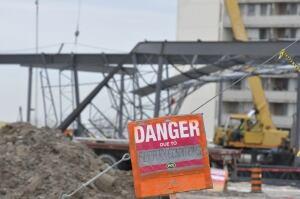 Man dies at Sheridan Mall construction site