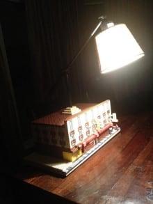 Gold Range Lego lamp