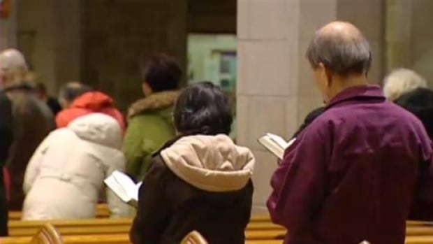 Church officials say they will be making some changes to services this month to prevent flu from spreading among the congregation. (CBC)