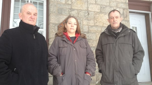L to R: Charlie Kurtz, Karen Hall and Michael Ross are all seeking rent and damage deposits back from their landlord.