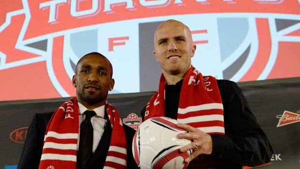 Toronto FC's additions of Jermain Defoe, left, and Michael Bradley have brought a renewed sense of optimism to fans of the MLS club.