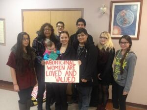 Kahnawake Mohawk gathering