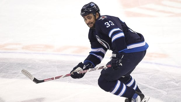Dustin Byfuglien of the Winnipeg Jets remains the third highest-scoring defenceman in the league with 37 points.