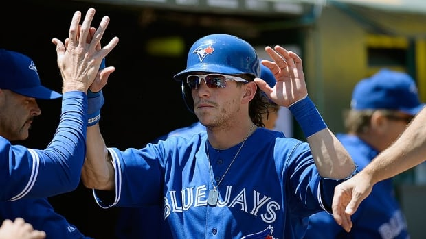 Blue Jays outfielder Colby Rasmus, seen here, is one of three Toronto players to file for arbitration on Tuesday.