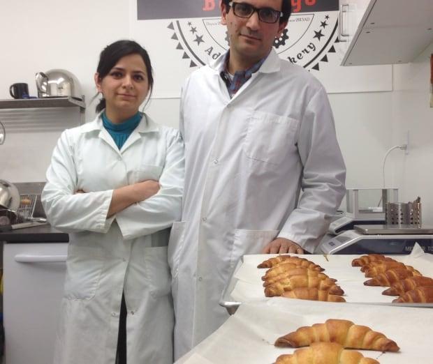 croissant Diana Valtiera and Ziad Khoury Baked2Go