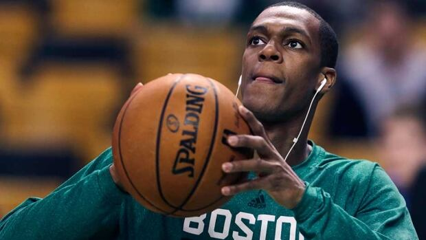 Celtics point guard Rajon Rondo is trying to make his way back from a torn ACL.