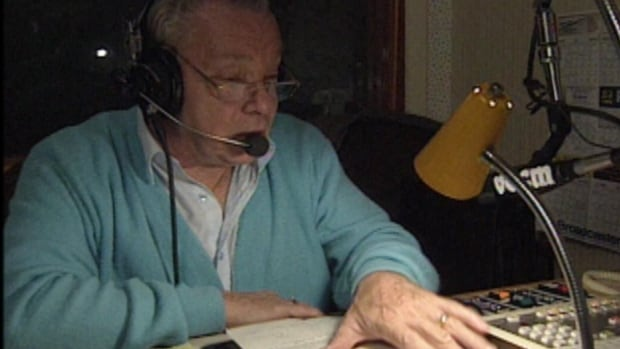 Bas Jamieson hosted open-line radio shows for decades in Newfoundland and Labrador.
